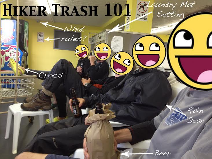 hiker trash 101