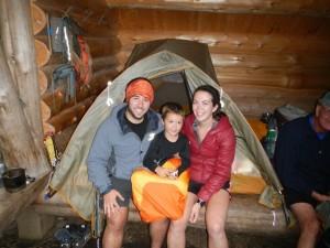 buddy backpacker family