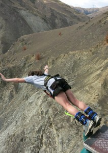 134m Nevis Bungy Jump, New Zealand