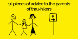 advice to parents of thru-hikers