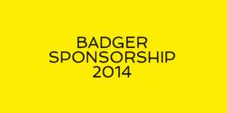 badger sponsorship 2014