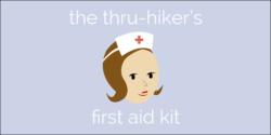 appalachian trail thru-hikers first aid kit