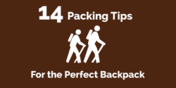 14 packing tips for the perfect backpack