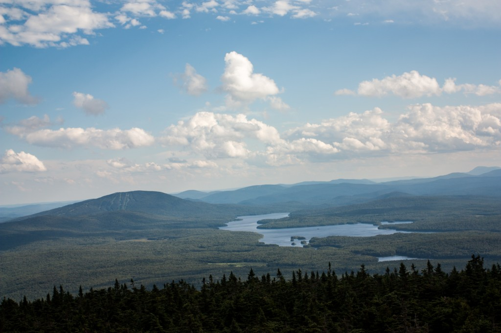 The view from Stratton Mountain has long been an inspiration.