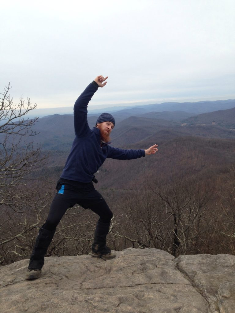 ZachSquatch on Blood Mountain