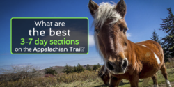 appalachian trail sections