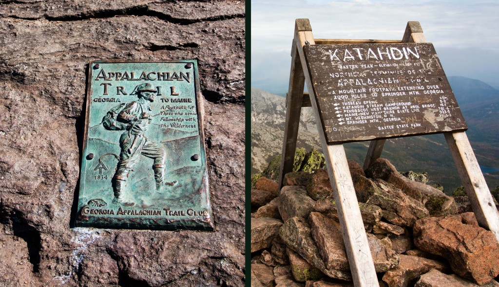 Southern and Northern Terminus of the Appalachian Trail
