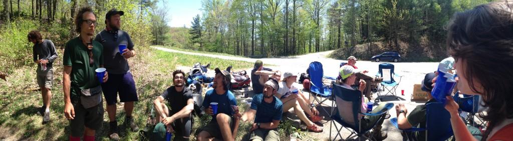 thru-hiker circle