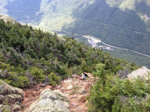 Hiking the AT? You'll get to climb this monster once you hit NH.