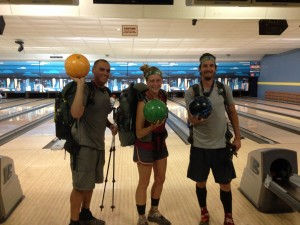 Bowling before the border