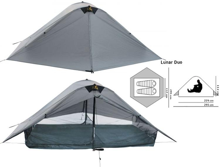 LunarDuo  sc 1 st  The Trek & Freestanding vs. Non-Freestanding Tents