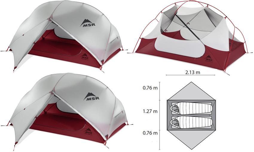 MSRHubba2  sc 1 st  The Trek & Freestanding vs. Non-Freestanding Tents