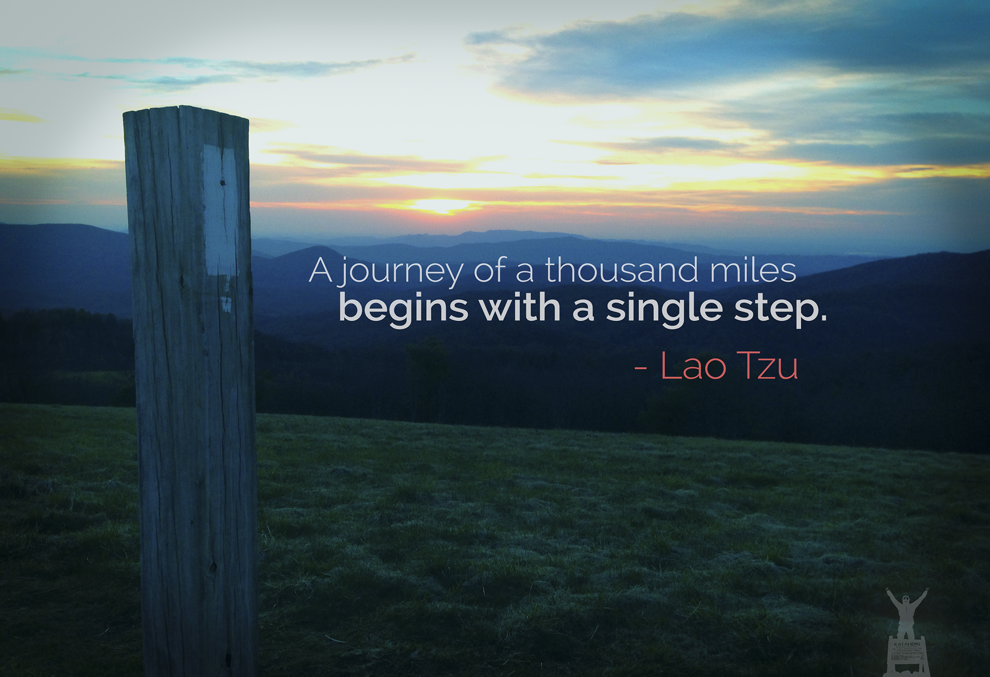 lao tzu quote - journey of thousand miles small