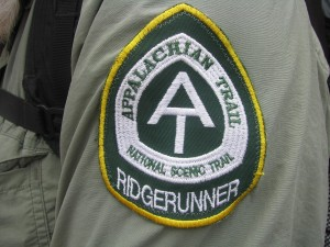 5Trail Art - Ridgerunner official patch, Rhea Patrick, Near Bly Gap, GA