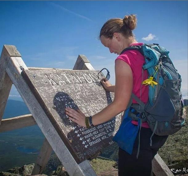 rocket girl thru-hiker