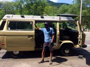 G-Hippie and his van
