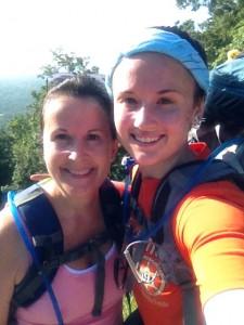 My ma and me hiking on my Sunday hike