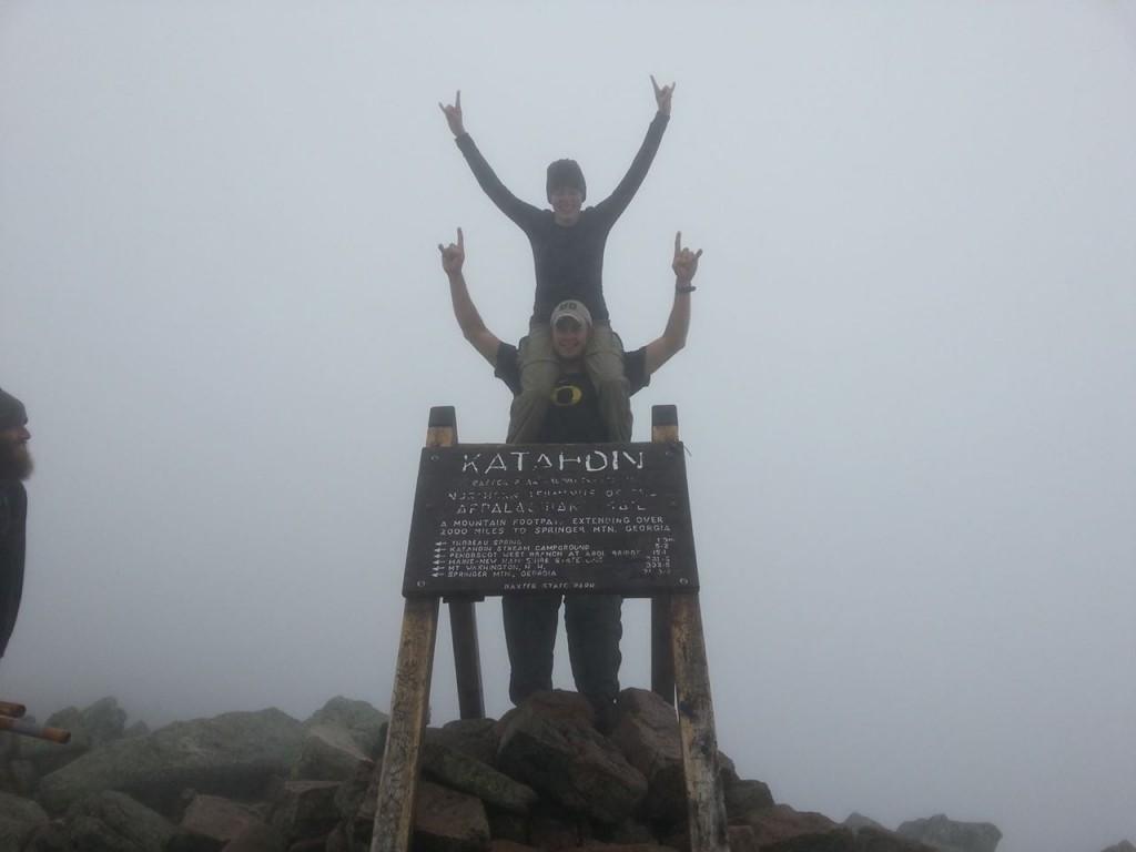 Oregon Little Bit thru-hiker