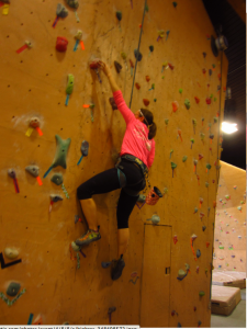 Every muscle in my body hurt after my first climb in over 2 years...