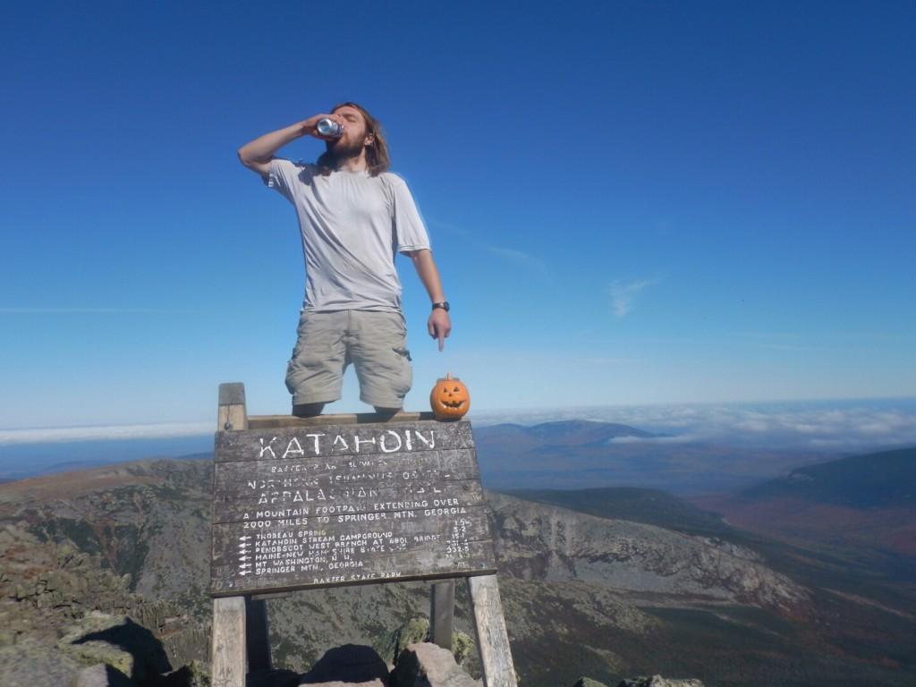 Apollo thru-hiker