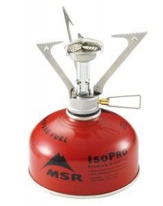 MSR Pocket Rocket on a fuel canister.