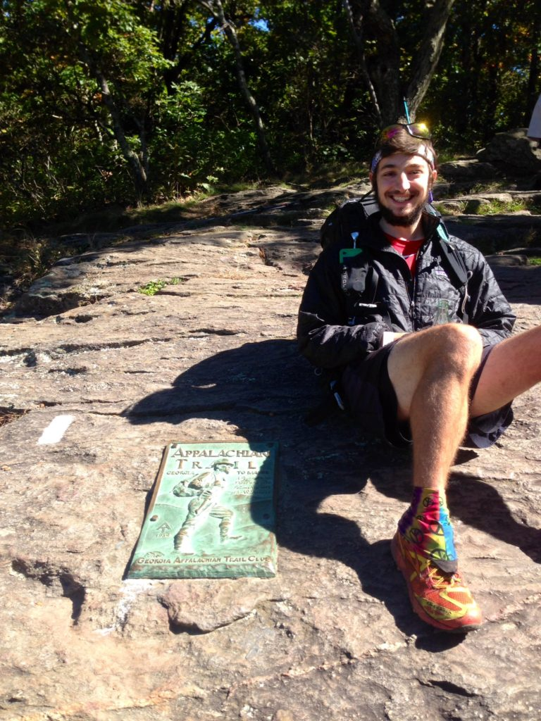 Toey thru-hiker