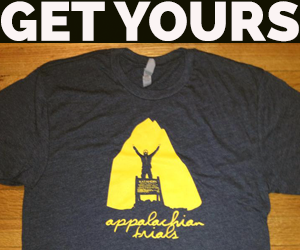 appalachian trials tee ad
