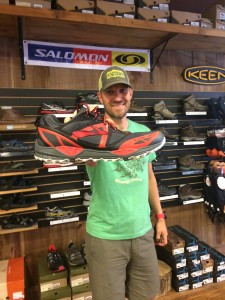 Rob from Outdoor 76, he knows his shoes!