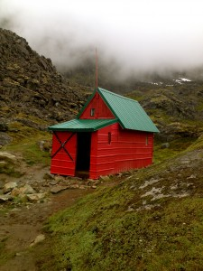 Hatcher Pass glacier hut
