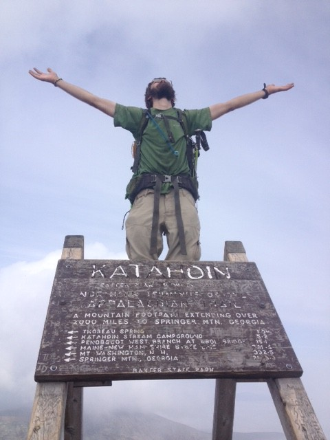 pilgrim thru-hiker