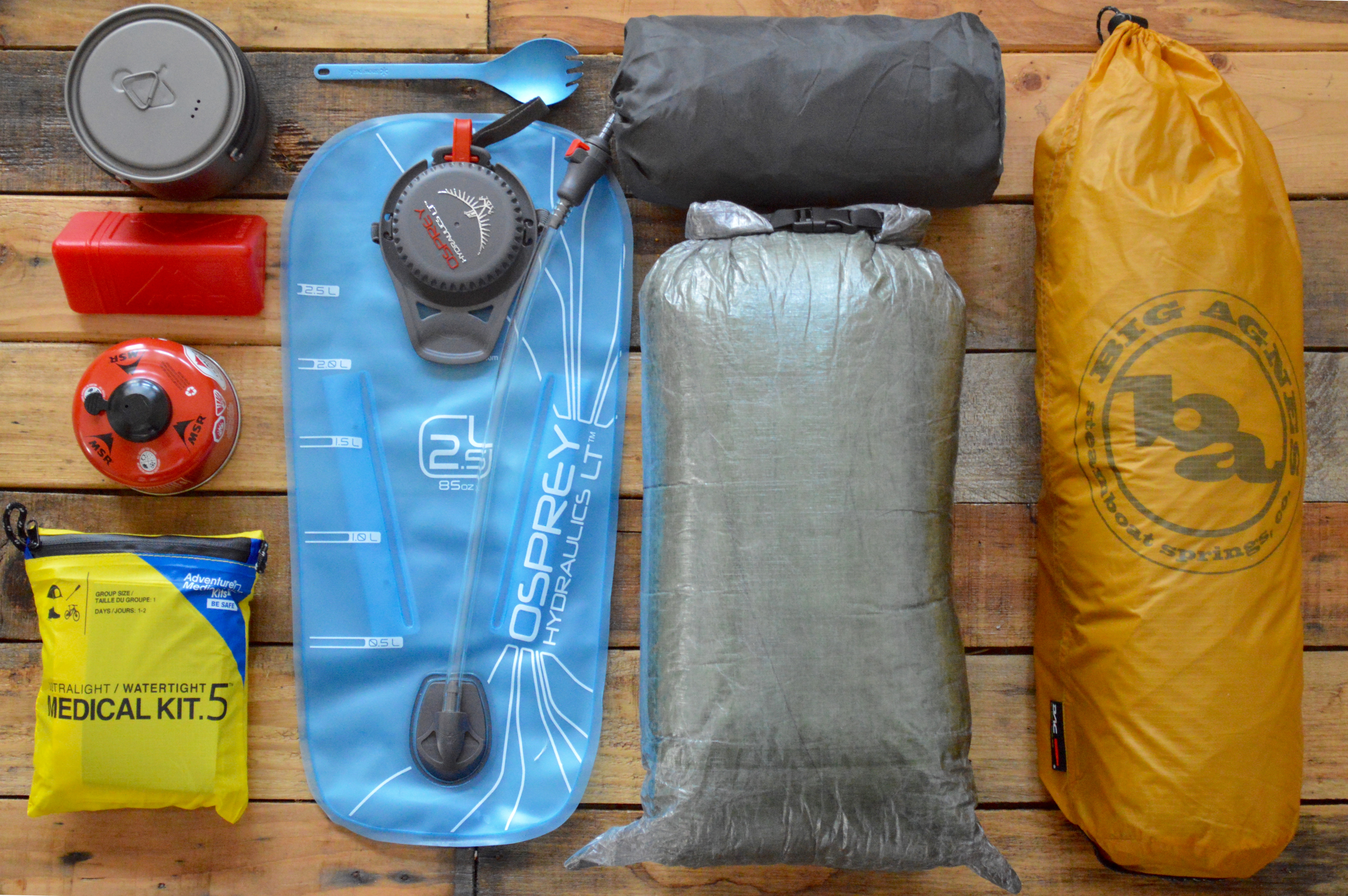 Mellanie's Appalachian Trail Gear List
