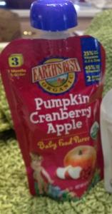 pumpkin cranberry apple