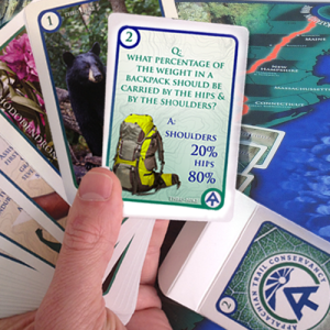 Appalachian Trail Board Game Playing Cards