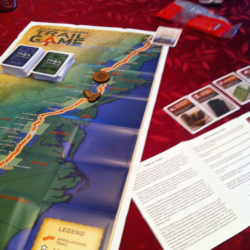 Playing the Appalachian Trail Board Game