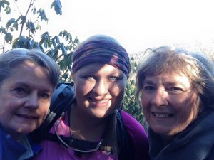 The best thing about the Hangover Hike was the gals who joined me! I feel so fortunate to have met some awesome hiker ladies. Reggie, left, attempted a thru-hike a few years ago and now section hikes. Dr. Brighteyes (right), is working on the AT in sections.
