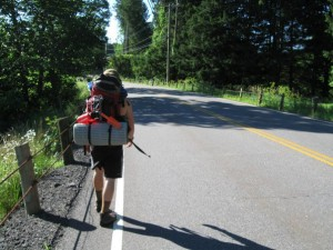 Spring 2010: During the college transfer phase I got to spend a of time backpacking - this is somewhere on the Connecticut AT