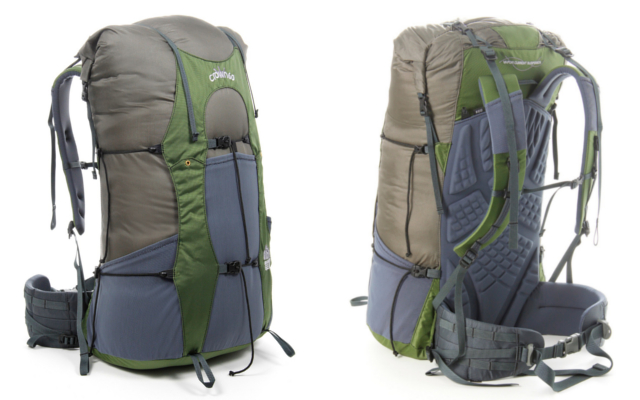 The Crown V.C. 60 Front and Back. Image Courtesy of Granite Gear.