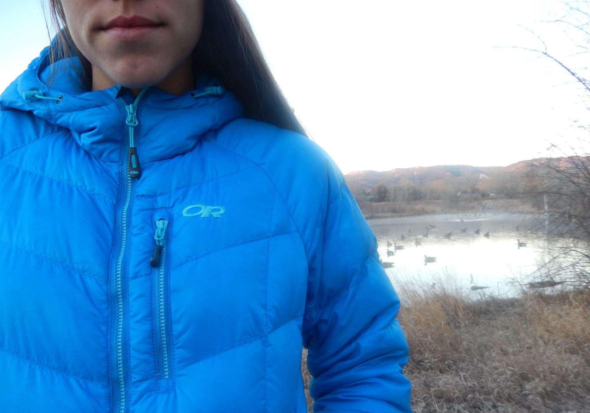 Outdoor Research Womens Sonata Ultra Hooded Down Jckt