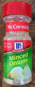 It's Minced Onion!