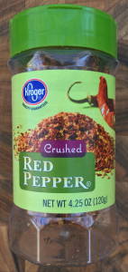 It's Crushed Red Pepper!