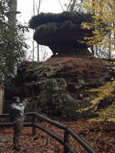 Balanced Rock, Natural Bridge SP