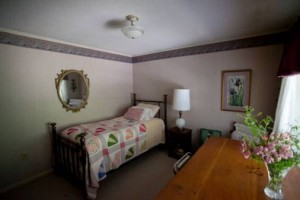 The Iris room. (Photo courtesy of Roan Mountain Bed & Breakfast)
