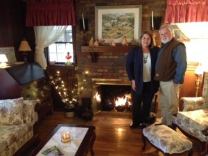 Ann and her husband Steve have enjoyed collecting stories about Appalachian Trail through hikers. (Photo by Botany)