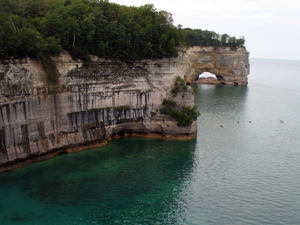 Pictured Rocks, Upper Peninsula