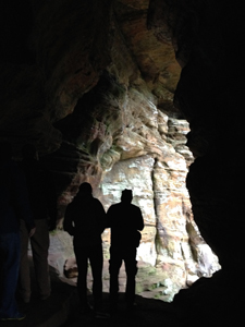 Inside of Rockhouse, Hocking Hills