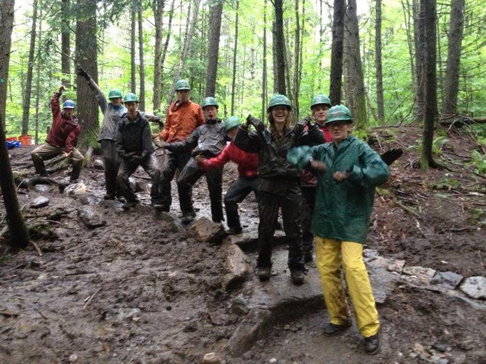 VYCC Trail Crew 7, Summer 2013