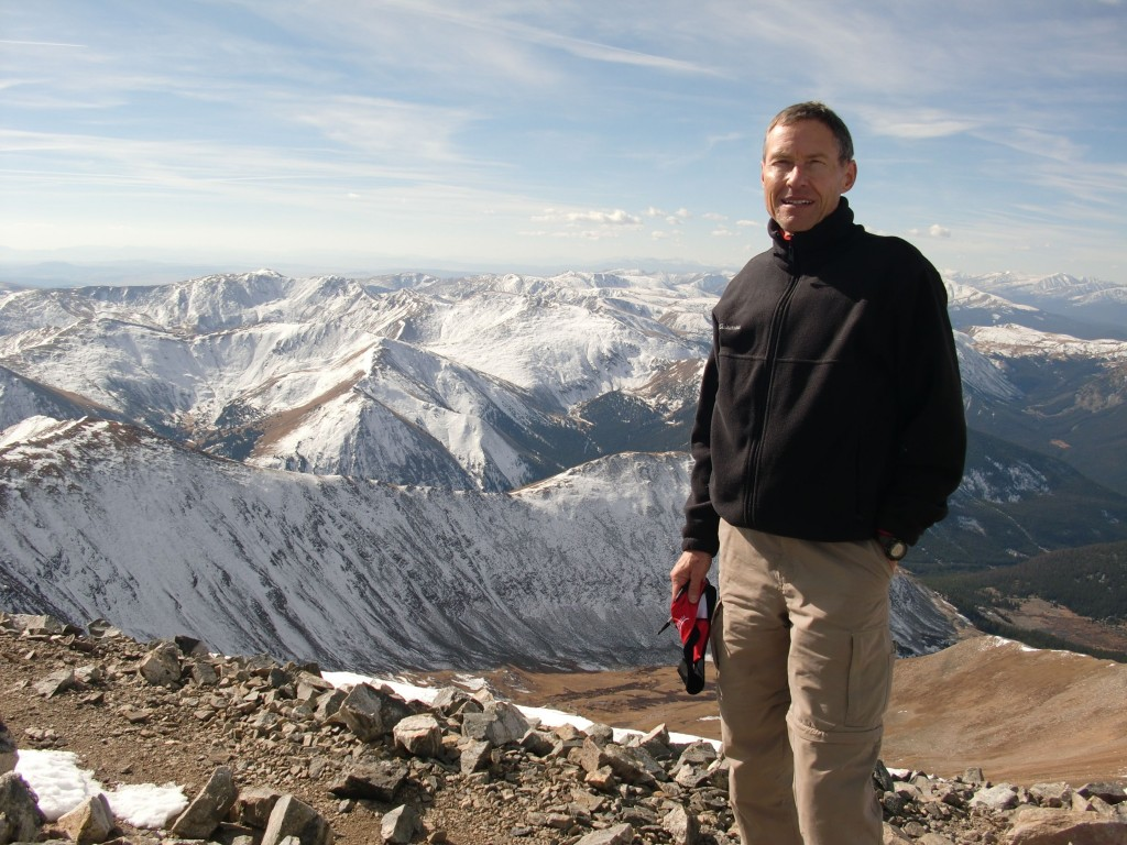 Climb to the top of Grey's Peak, Colorado for top elevation of 14,278 feet.