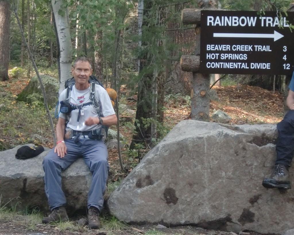 Rainbow Trail east of Durango, Colorado.