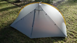 Ultra light (41 ounces) Double Rainbow tent by Tarptent.