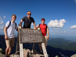 August 2014: Atop Mt. Katahdin